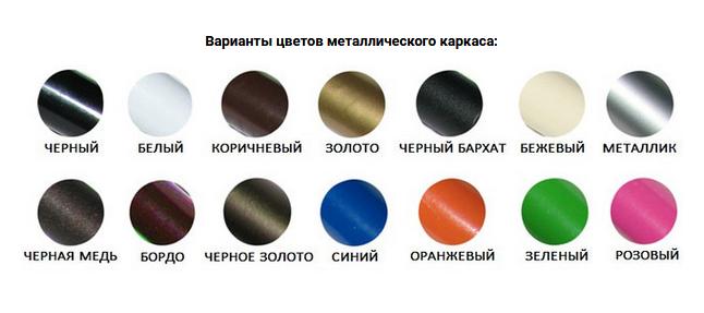 Цвета металла - Металл Дизайн